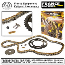 France Equipement Kettenkit (Alu) für Yamaha WR250 F (5PH, 5UM6) 2001-2006