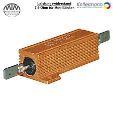 Kellermann Leistungswiderstand 7,5 Ohm für Mini-Blinker