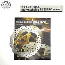 France Equipment Wave Bremsscheibe hinten 276mm BMW R1150RT ABS 2001-2005