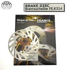France Equipment Bremsscheibe 180mm Kawasaki KX65 2000-2015