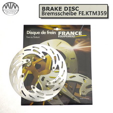 France Equipment Bremsscheibe vorne 260mm Husaberg FS450C 2006