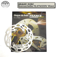 France Equipment Wave Bremsscheibe vorne 260mm Husaberg FE450 Enduro 2009-2017