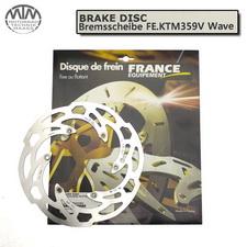 France Equipment Wave Bremsscheibe vorne 260mm Husaberg FX470E 2001-2002