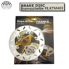 France Equipment Bremsscheibe hinten 220mm KTM GS125 1988-1999