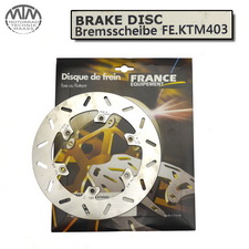 France Equipment Bremsscheibe hinten 220mm KTM MX125 1987-1995