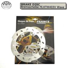 France Equipment Wave Bremsscheibe hinten 220mm Husaberg FC450 2004-2010