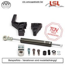 LSL Lenkungsdämpfer Set Harley Davidson Sportster (XL2) 04-