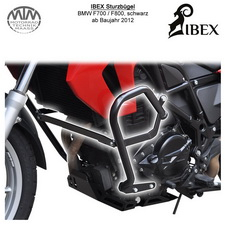 IBEX Sturzbügel BMW F700 F800 (12-) Schwarz
