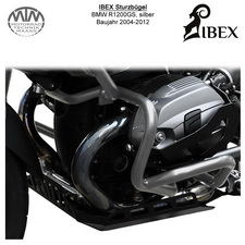 IBEX Sturzbügel BMW R 1200 GS (04-12) Silber
