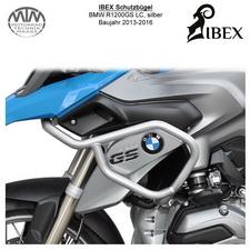 IBEX Schutzbügel BMW R1200 GS LC (13-16) silber