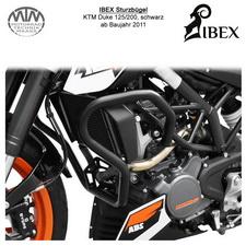 IBEX Sturzbügel KTM Duke 125/200 (11-) Schwarz