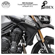 IBEX Sturzbügel Triumph Tiger Explorer (12-) Schwarz