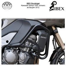 IBEX Sturzbügel Kawasaki Versys 1000 (12-) Schwarz