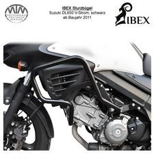 IBEX Sturzbügel Suzuki DL 650 V-Strom (11-) Schwarz