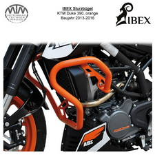 IBEX Sturzbügel KTM Duke 390 (13-16) orange