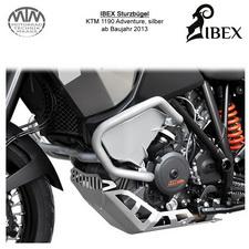 IBEX Sturzbügel KTM 1190 Adventure 13- silber