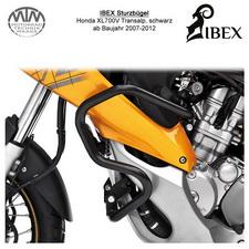 IBEX Sturzbügel Honda XL700V Transalp 07-12 Schwarz
