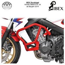 IBEX Sturzbügel Honda CB650 F/X 14- Rot