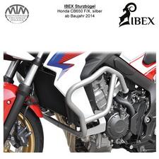IBEX Sturzbügel Honda CB650 F/X 14- Silber