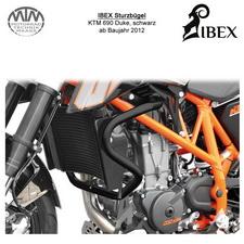 IBEX Sturzbügel KTM 690 Duke 12- Schwarz