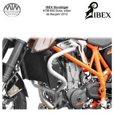 IBEX Sturzbügel KTM 690 Duke 12- Silber