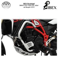 IBEX Sturzbügel BMW F700 F800 GS 2015- silber
