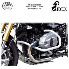 IBEX Sturzbügel BMW R Nine T silber