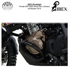 IBEX Sturzbügel Honda CRF1000L Africa Twin 16- schwarz