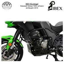 IBEX Sturzbügel Kawasaki Versys 1000 15- schwarz