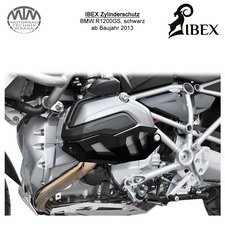 IBEX Zylinderschutz BMW R1200GS 13- schwarz