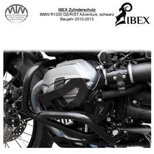 IBEX Zylinderschutz BMW R1200 GS/R/ST Adventure 10-13 Schwarz