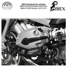 IBEX Zylinderschutz BMW R1200GS 04-09 R 07-10 schwarz