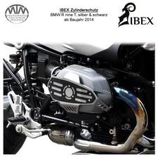 IBEX Zylinderschutz BMW R nine T 14- silber/schwarz