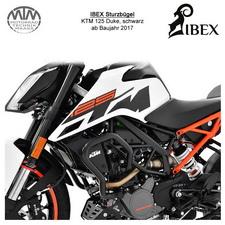IBEX Sturzbügel KTM 125 Duke 17- schwarz