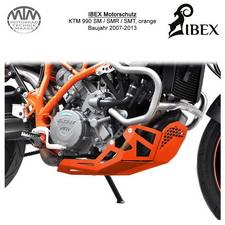 IBEX Motorschutz KTM 990 SM/SMR/SMT 07-13 orange