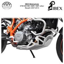 IBEX Motorschutz KTM 990 SM/SMR/SMT 07-13 silber