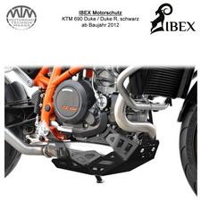 IBEX Motorschutz KTM Duke 690R 12- schwarz