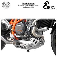 IBEX Motorschutz KTM Duke 690R 12- silber