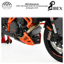 IBEX Motorschutz KTM 1290 Super Duke GT 16- schwarz/orange
