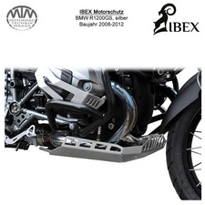 IBEX Motorschutz BMW R1200GS 08-12 silber
