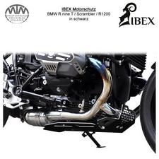 IBEX Motorschutz BMW R nine T/Scrambler/R1200R/GS schwarz