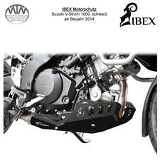 IBEX Motorschutz Suzuki V-Strom 1000 14- Schwarz