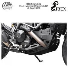 IBEX Motorschutz Ducati Hypermotard Hyperstrada 821 13- Schwarz