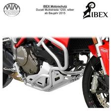 IBEX Motorschutz silber Ducati Multistrada 1200 15-
