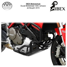 IIBEX Motorschutz schwarz Ducati Multistrada 1200 15-