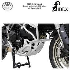 IBEX Motorschutz silber Ducati Multistrada 950 17-
