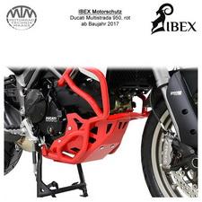 IBEX Motorschutz rot Ducati Multistrada 950 17-