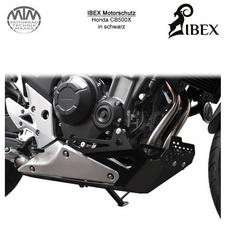 IBEX Motorschutz Honda CB500X Schwarz