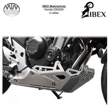 IBEX Motorschutz Honda CB500X Silber