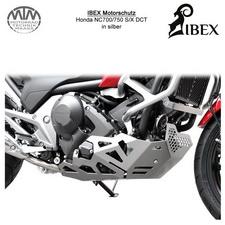IBEX Motorschutz Honda NC700/750 S/X DCT Silber
